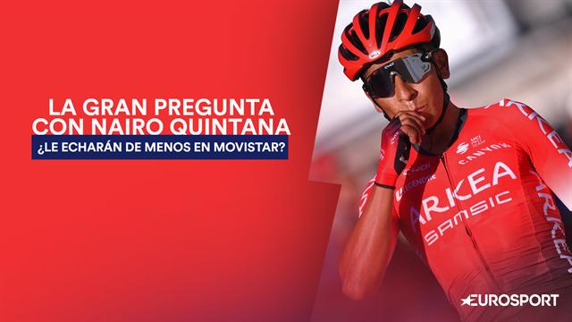 Nairo gana a la primera fuera del Movistar Team: ¿Quién va a echar más de menos a quién?