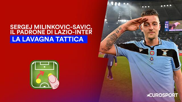 Milinkovic-Savic, dominio fisico e tecnico nella rimonta della Lazio sull'Inter