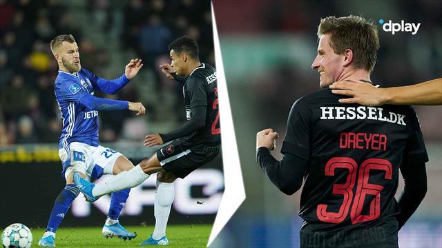 Highlights: Dreyer debuterede med scoring i sikker midtjysk mandagssejr