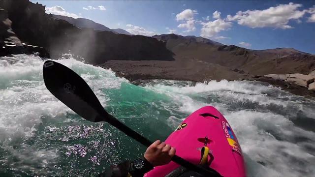 Watch: American kayaker takes plunge down 134ft waterfall