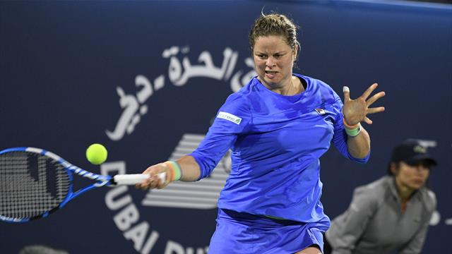 Vorhand-Winner wie in alten Zeiten: Clijsters begeistert trotz Comeback-Pleite