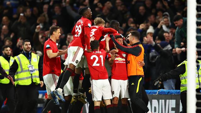 Maguire seals United's win at Chelsea as VAR controversy reigns