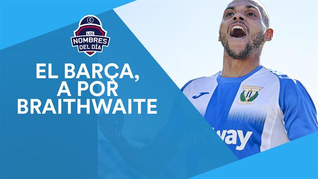 Braithwaite, Neymar, Alcaraz, Upamecano y el racismo en Portugal, los nombres del día