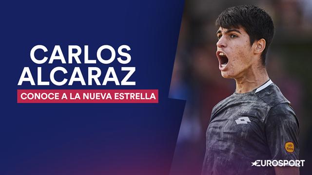 Descubre a Carlos Alcaraz: mentalidad ganadora y un estilo a lo Roger Federer