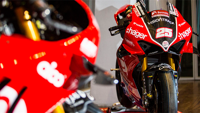 PBM Ducati's Brookes and Iddon reveal 2020 livery
