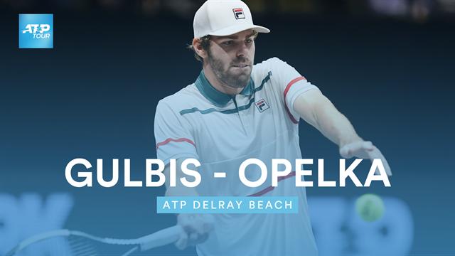 Gulbis - Opelka : Le résumé