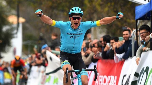 Vuelta a Andalucia 2020 (1ª etapa) Fuglsang se lleva la victoria ante Landa en Grazalema