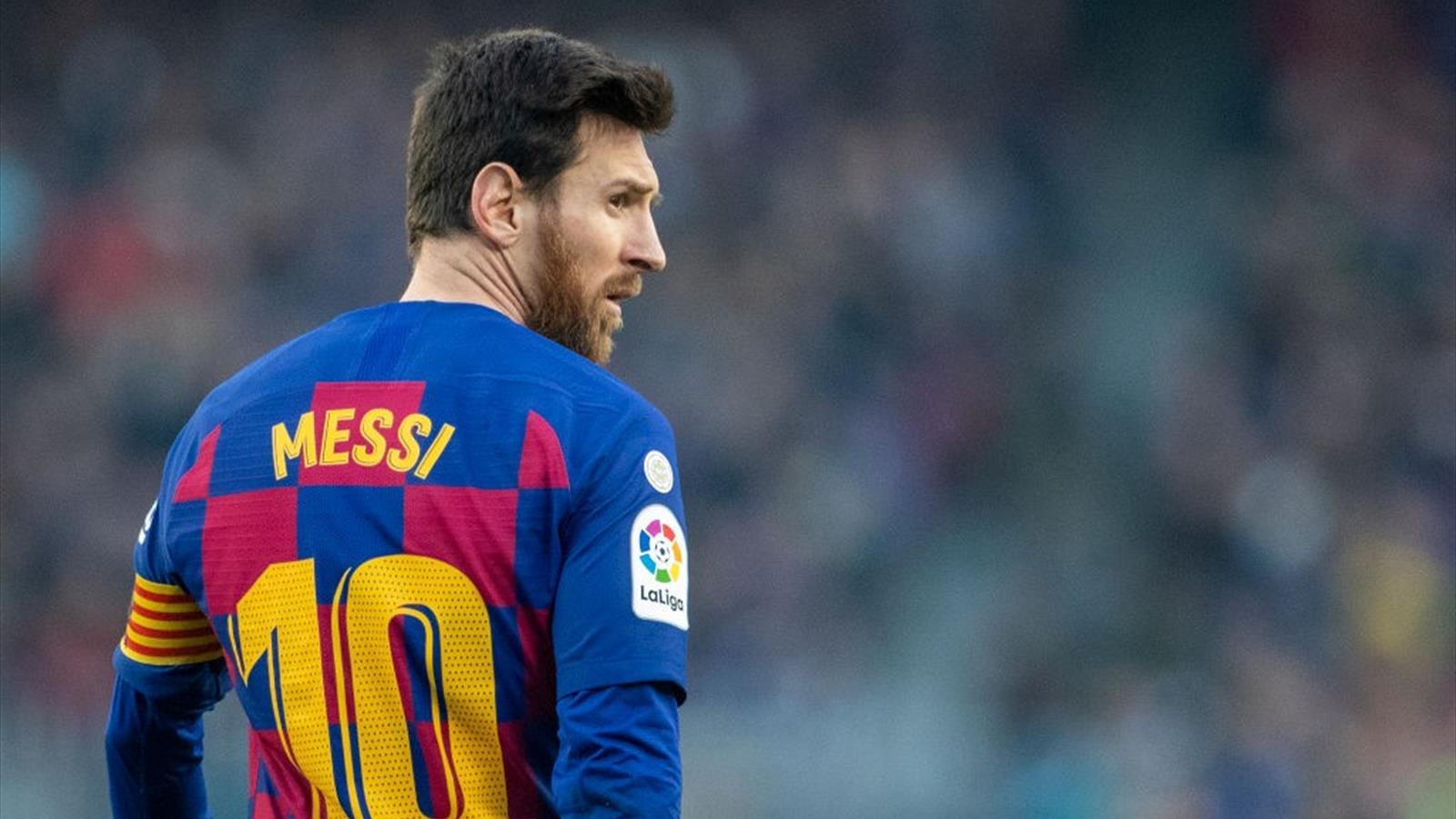 FC Barcelone : Lionel Messi s'est entraîné à l'écart du groupe - Eurosport