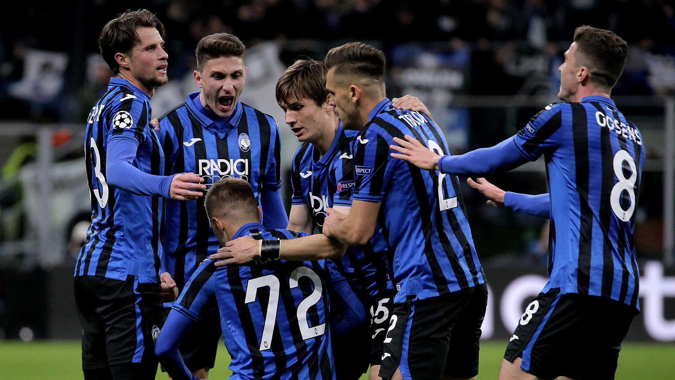 Atalanta on the verge of maiden Champions League quarter final after ...