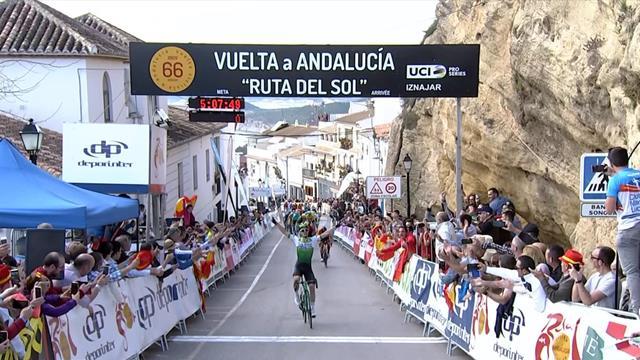 Außenseiter lässt Asse am Anstieg stehen: das Finale der 2. Etappe