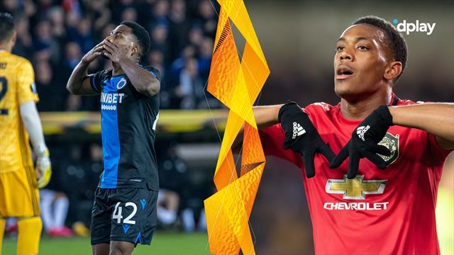 Highlights: Manchester United må nøjes med uafgjort mod flot spillende Brugge
