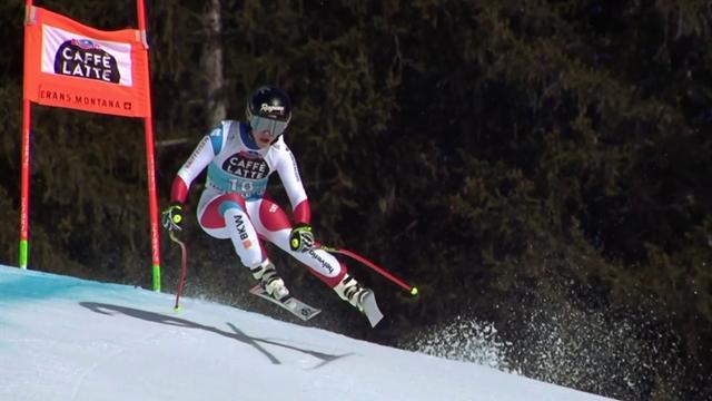 'Sensational skiing!' - Lara Gut-Behrami crushes rivals in Crans Montana