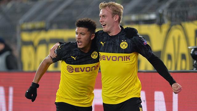 Dortmund enchaîne grâce à Sancho et grimpe sur le podium