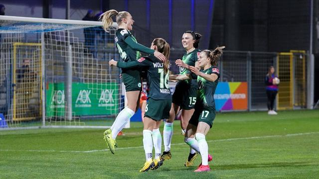 Wolfsburger Blitzstart: Pajor trifft nach wenigen Sekunden zur Führung