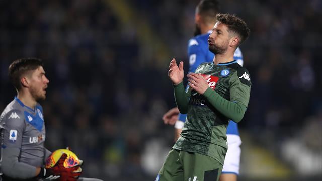 Avant Barcelone, Naples assure l'essentiel