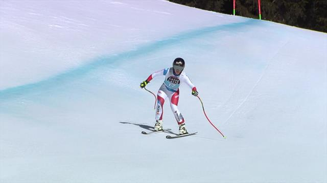 Alpine skiing: Gut-Behrami doubles medal tally