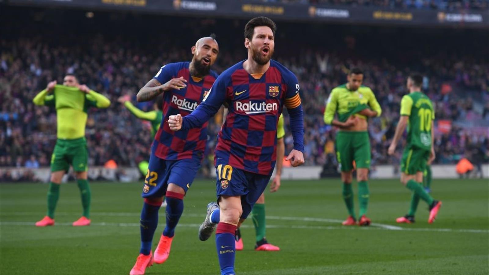 Barcellona-Eibar 5-0: poker di Messi, gol di Arthur e Napoli avvisato