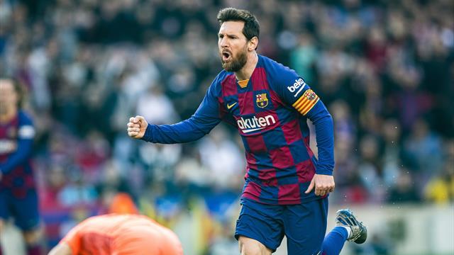 """Crochet dévastateur et petit pont : Messi a mis fin à sa """"disette"""" avec la manière"""