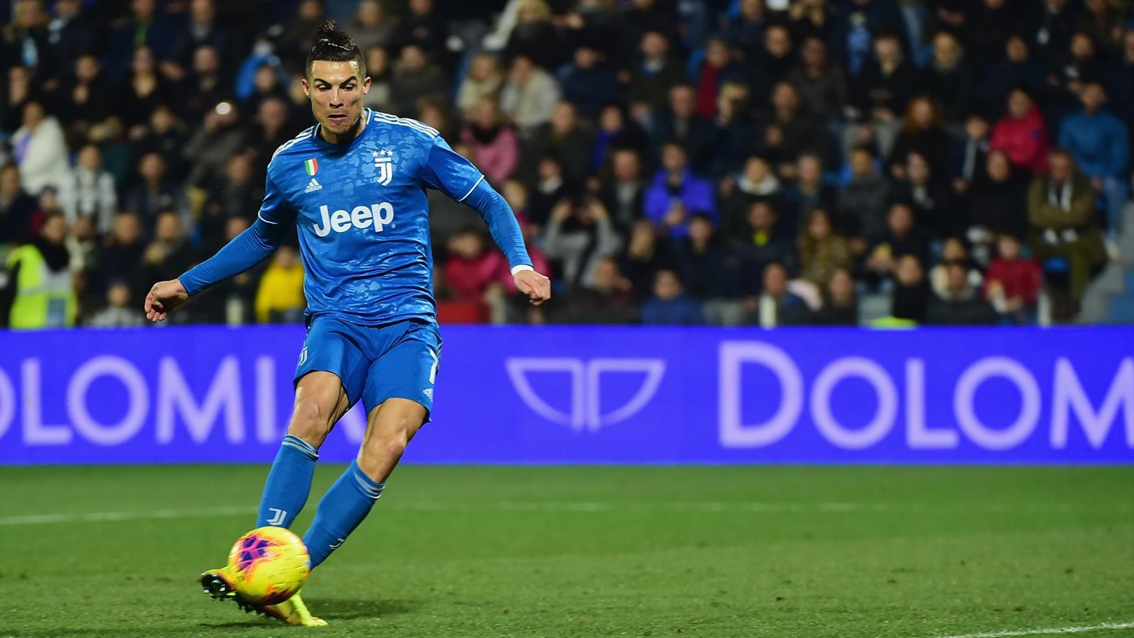 Роналду забил в 1000-м матче в карьере, в 11-й игре подряд и повторил рекорд Серии A