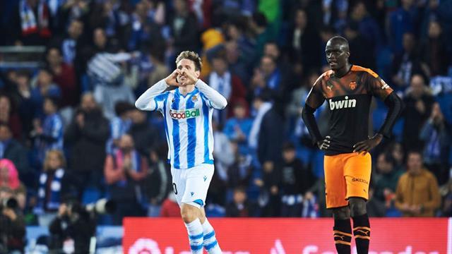 ⚽ La Real Sociedad pasa por encima del Valencia y confirma su candidatura a entrar en Champions