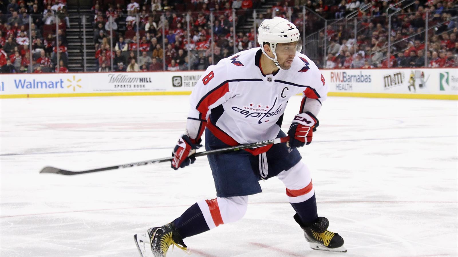 Овечкин забросил 700-ю шайбу в НХЛ. Быстрее него это сделал только Гретцки