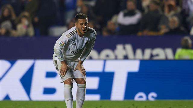 ⚽😣 Eden Hazard sufre una fisura en el peroné y podría estar varios meses fuera