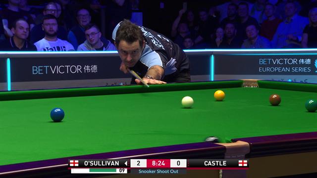 Snooker, Shoot Out: De la locura por Xiao a la corbata de O'Sullivan