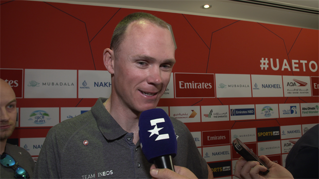 """""""A great feeling!"""" - Chris Froome excited to be back in the peloton"""
