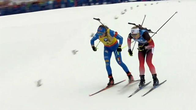 Unwiderstehlich! Röiseland stürmt an Wierer vorbei zu Gold - Öberg mit Bronze belohnt