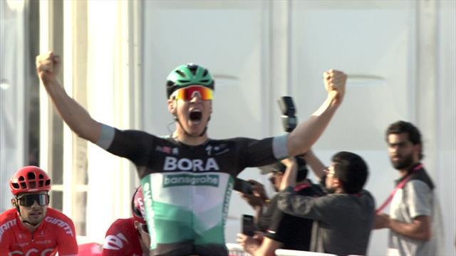 Ackermann s'impose au sprint, Barbier sur le podium
