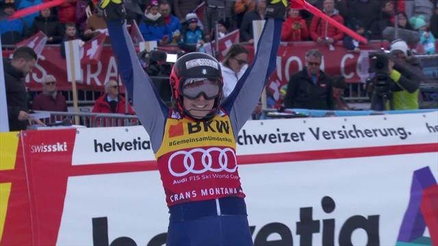 Brilliant Brignone takes Alpine Combined victory