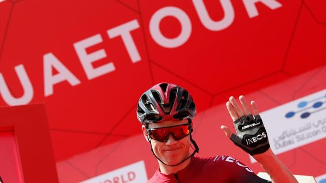 """Froome: """"Me siento feliz de volver a sentirme ciclista"""""""