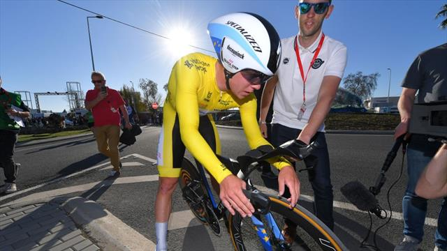 Highlights: Evenepoel sets course record on ITT to take Algarve title