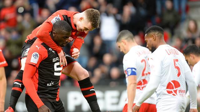 Rennes sauve in extremis sa place sur le podium