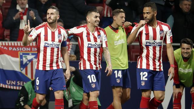 L'Atlético se relance et grimpe sur le podium