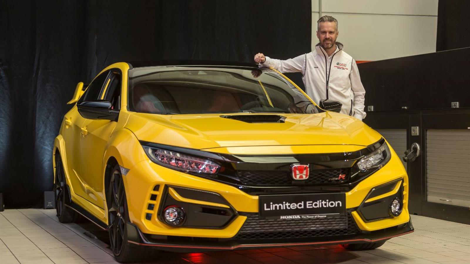 Honda-powered WTCR racer Monteiro helps launch new road-going Civic Type R variants - Eurosport.com
