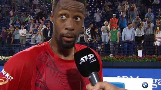 """Monfils : """"Je n'ai pas joué mon meilleur tennis"""""""