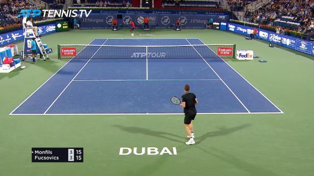 ATP : Dubaï - Monfils sort Fucsovics avec difficulté