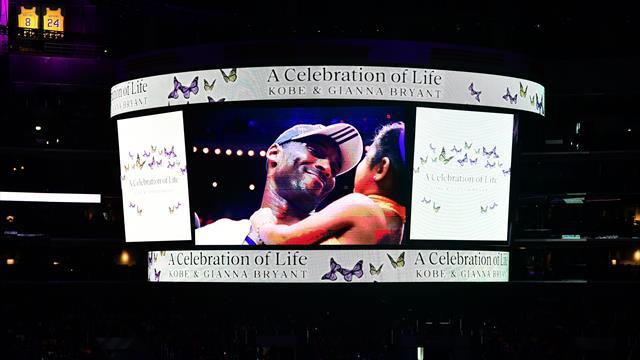 Les larmes de Jordan, un Staples Center comble : immense émotion pour le dernier adieu à Bryant