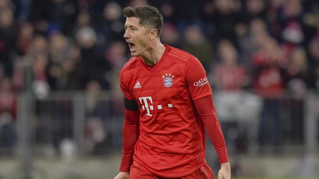 Lewandowski absent quatre semaines — Bayern Munich