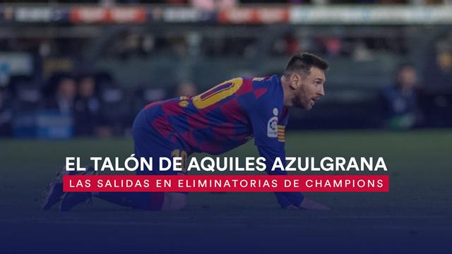 El 'Talón de Aquiles' del Barça en la Champions: Las salidas en eliminatorias
