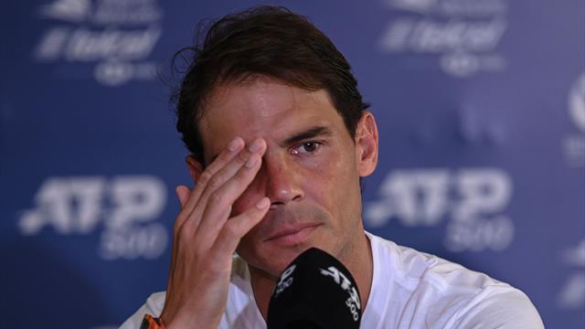 """Nadal : """"Il n'y a pas que Federer, Djokovic et moi dans le groupe WhatsApp"""""""