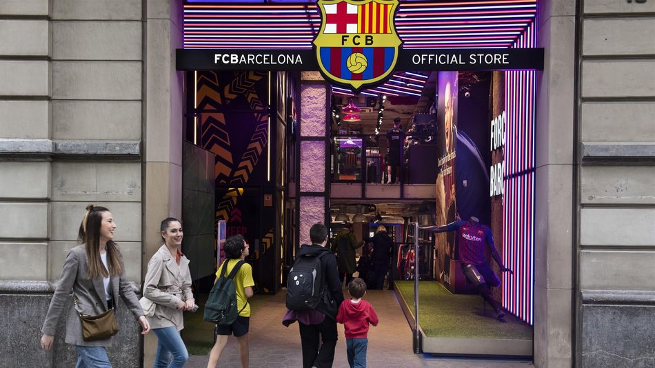 Клубный магазин «Барселоны»