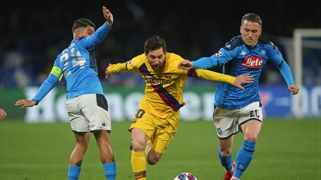 Breaking news. Celor de la Napoli le poate fi interzisă călătoria la Barcelona pentru duelul din UCL