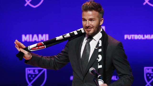 """Le rêve de Beckham : """"Recruter Messi ou Ronaldo ? Si nous avons l'opportunité..."""""""