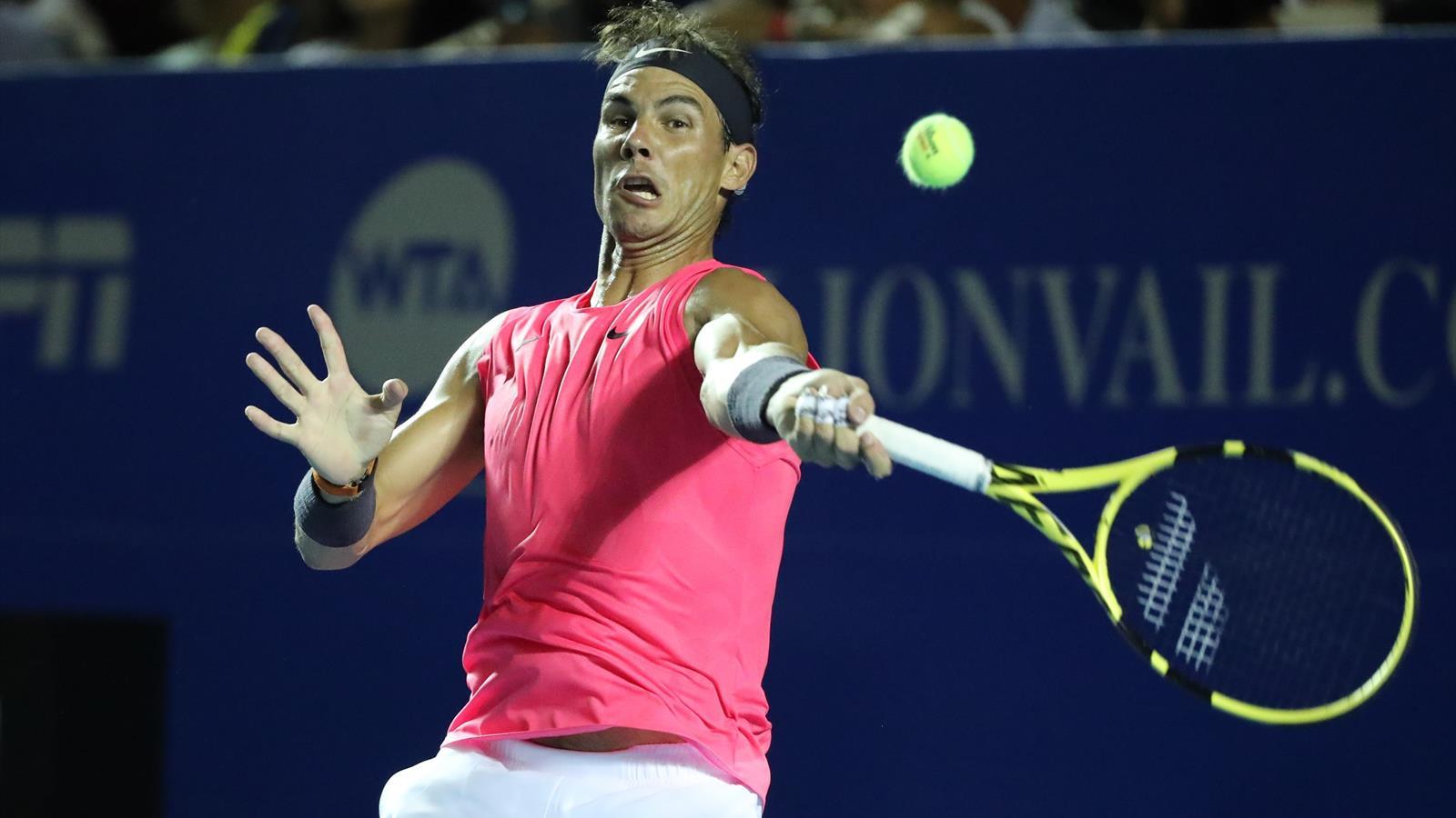 ATP Acapulco 2020, Rafael Nadal-Pablo Andújar: Primero susto y luego rodillo (6-3 y 6-2)