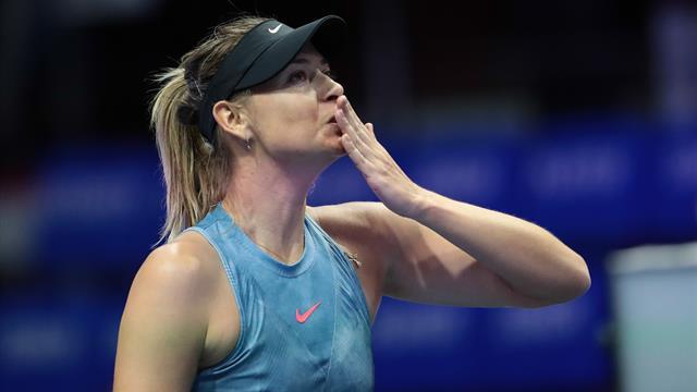 L'addio al tennis di Maria Sharapova