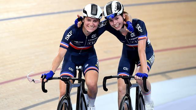 L'équipe de France féminine de poursuite valide son ticket pour Tokyo