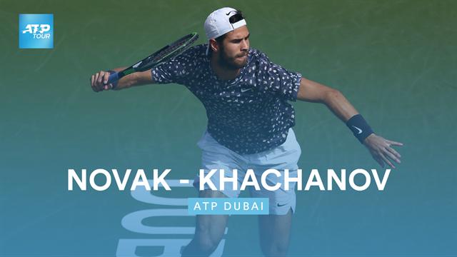 Novak - Khachanov : Le résumé