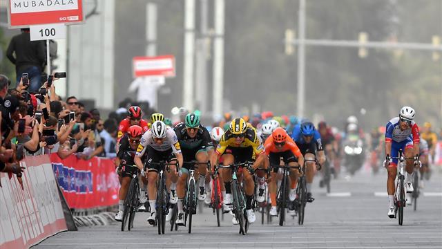Stage Four Highlights: Yates stays in lead as Groenewegen wins sprint